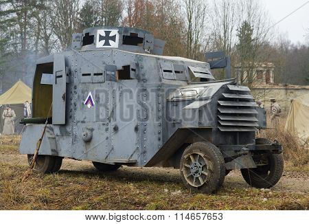 German armoured car