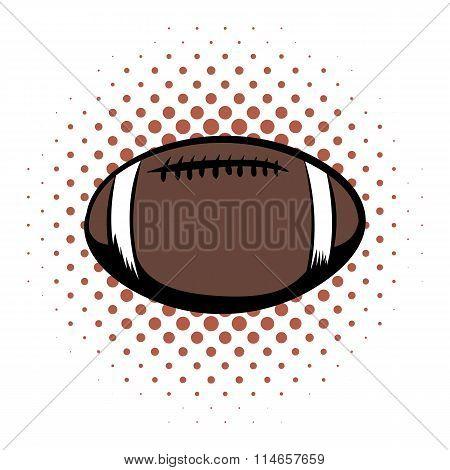 American football comics icon