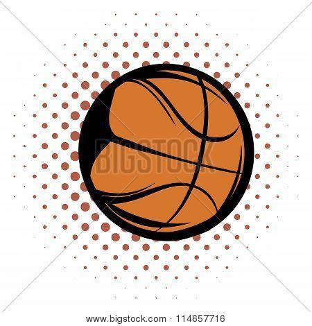 Basketball comics icon