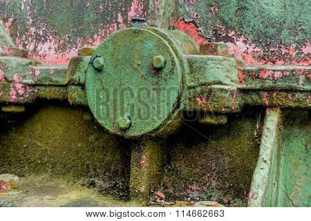 iron with traces of rust