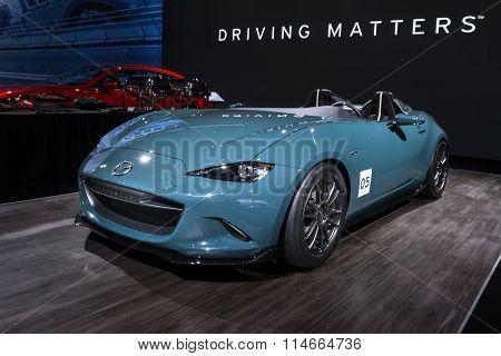 Mazda MX-5 (Miata) Speedster Concept