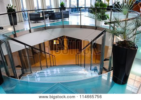 The Lobby In A Modern Office