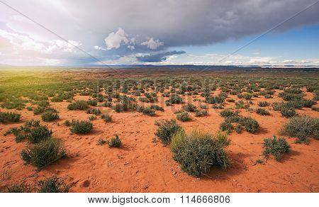Arizona Desert Storm Aproaching