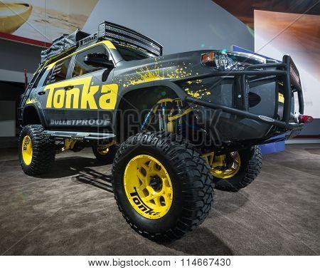 2016 Toyota 4Runner Tonka Truck