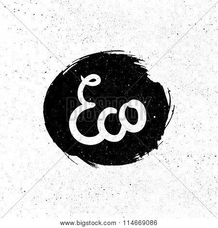 Eco Natural Lettering