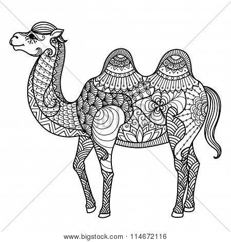 Camel Zentangle