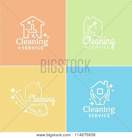 Logo Cleaning Service