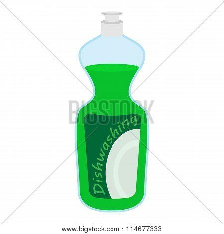 Kitchenware bottle soap cartoon icon
