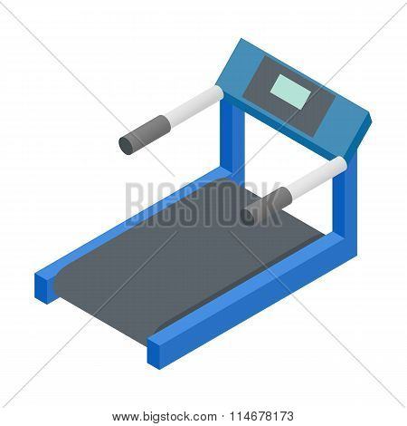 Treadmill 3d isometric icon