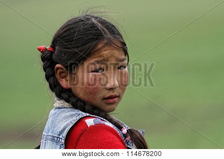 Child of the Steppe