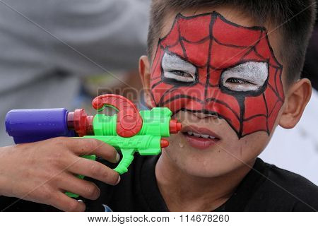 Spider Man Child