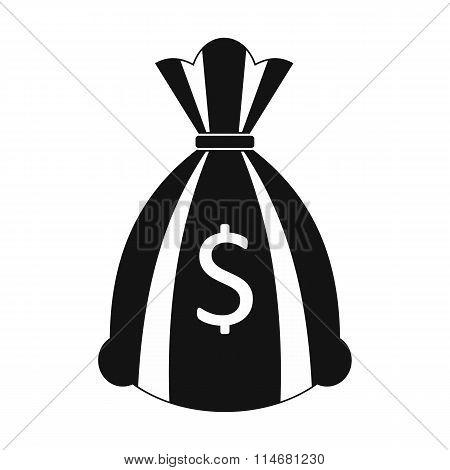 Money bag or sack icon
