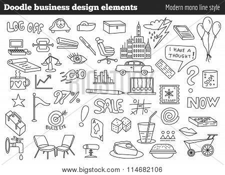 Doodle Business Design Elements