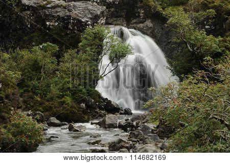 Waterfall at Fairy Pools