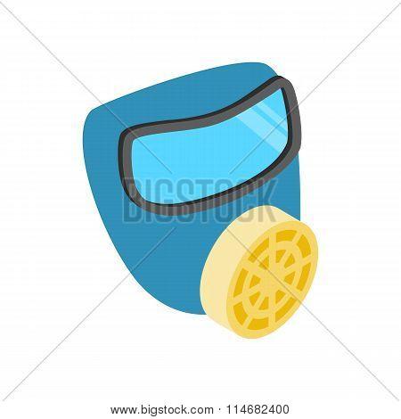 Respirator isometric 3d icon