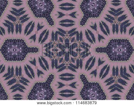 Seamless ornament pink violet purple