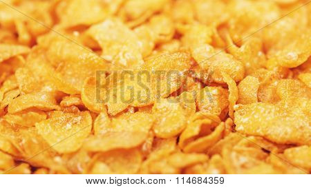 Cornflakes With Honey And Nuts