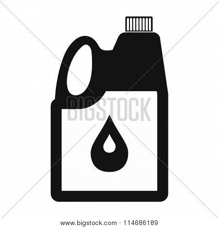 Jerrycan oil icon