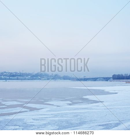 Irkutsk At Winter