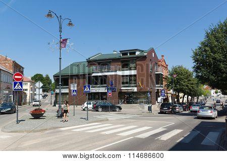 Siauliai City In The Lithuania