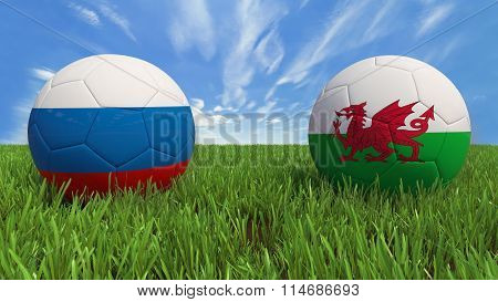 Russia - Wales