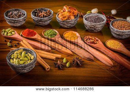 Indian Herbs And Spices
