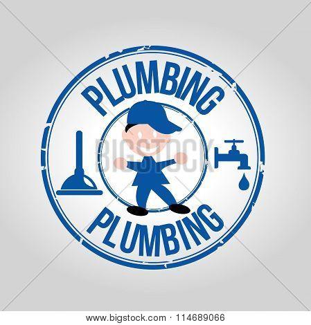 Plumbing stamp