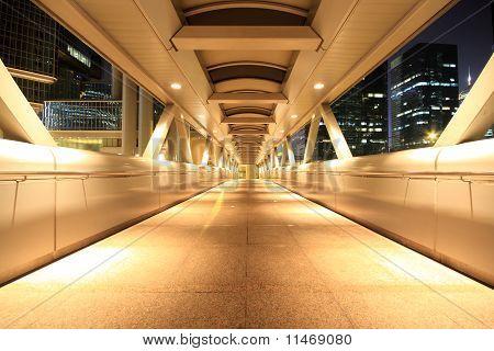 Corridor Of The City Hall