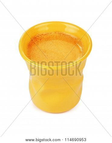 Espresso Cup With Coffee