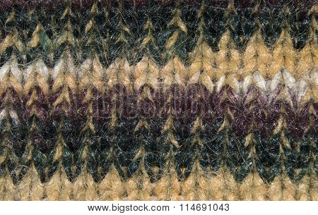 Colorful texture of natural wool fibers and hair. Wool texture. Closeup
