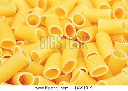 Raw Pipe Pasta