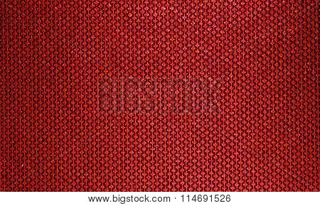 Rich, honey texture for fabric . Red lines patterns with diamonds on a black background