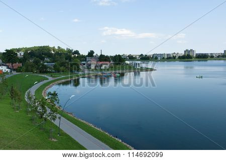 Siauliai City In The Lithuania