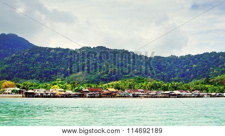 Lanta Town In Thailand