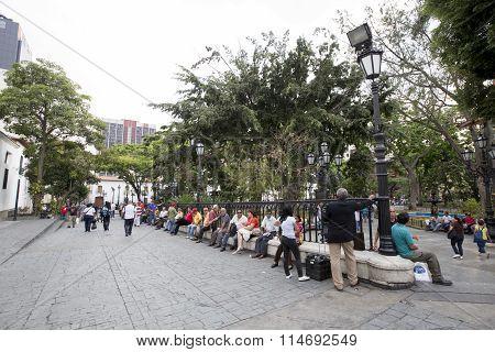 Square In Caracas