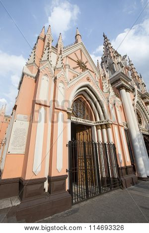 Church In Caracas, Venezuela