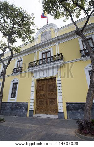 Colonial House In Caracas, Venezuela