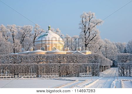 Tsarskoye Selo. Russia. The Lower Bathhouse Pavilion