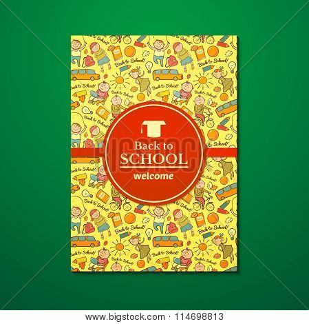 Vector school brochure