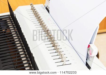 Office Equipment Bookbinding