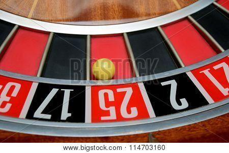 Ball In Number Twenty Five