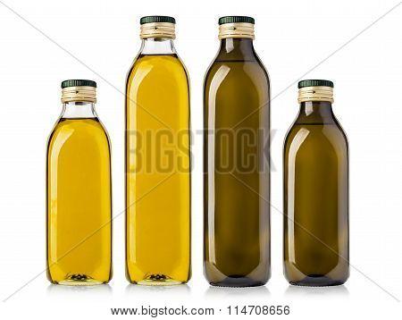 Set Of Olive  Bottles