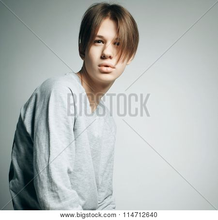 casual young boy