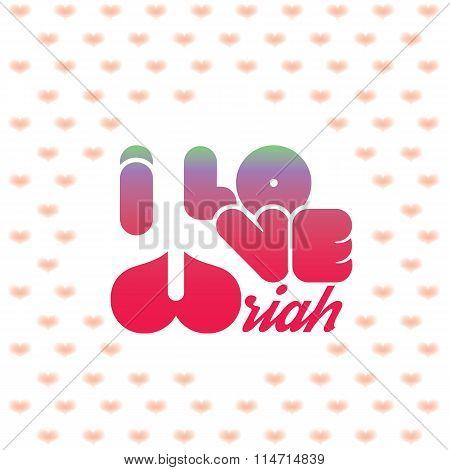 I love Uriah