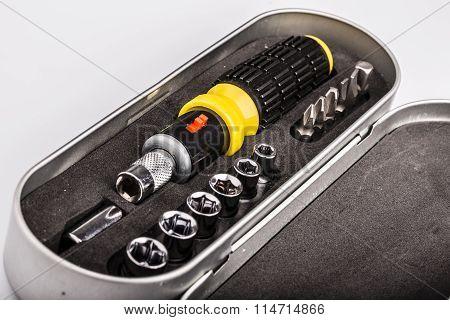 Toolkit, Set Of Tools For Repair
