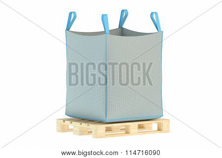 Pallet With Big Bag