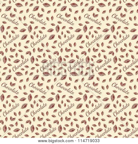 Chocolate bars seamless pattern