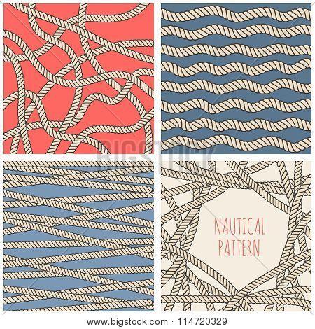 nautical patterns set
