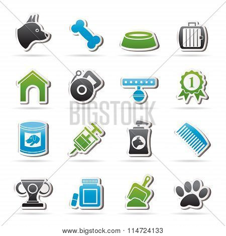 Dog and Cynology object icons