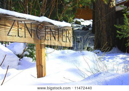 Zen Gardens Sign
